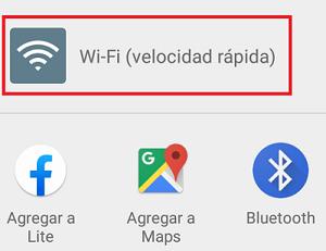 Cómo enviar archivos por Wifi Direct paso 4.