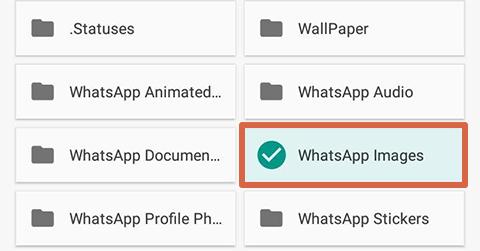 Cómo liberar espacio en Android borrando archivos de WhatsApp paso 6
