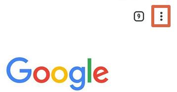 Cómo liberar espacio en Android borrando datos del navegador paso 1