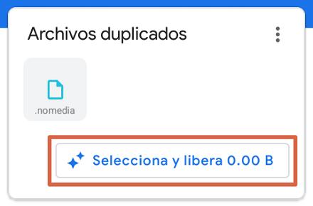Cómo liberar espacio en Android con Files paso 3