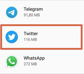 Cómo liberar espacio en Android desinstalando apps paso 3