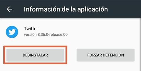 Cómo liberar espacio en Android desinstalando apps paso 4