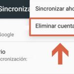 Cómo quitar una cuenta de Google de un celular