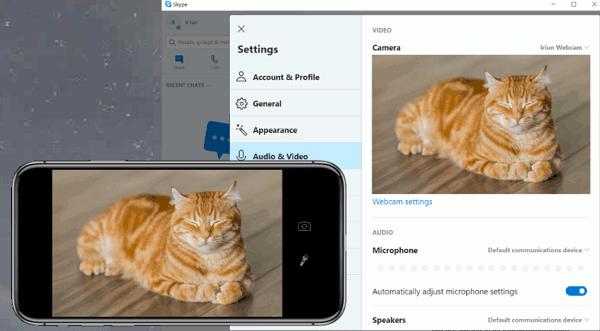 Cómo usar un celular o móvil como webcam en la PC