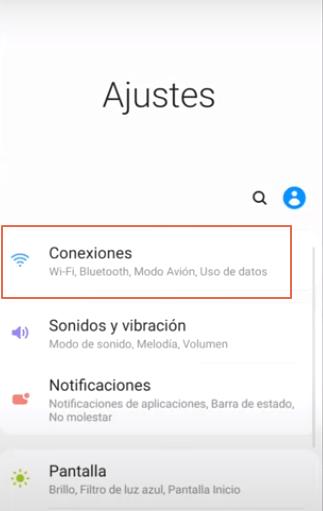 Cómo ver claves Wi-Fi en Android 10 paso 2
