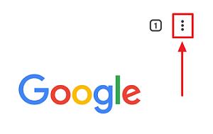 Cambiar la carpeta de descargas en Android desde Google Chrome paso 1.