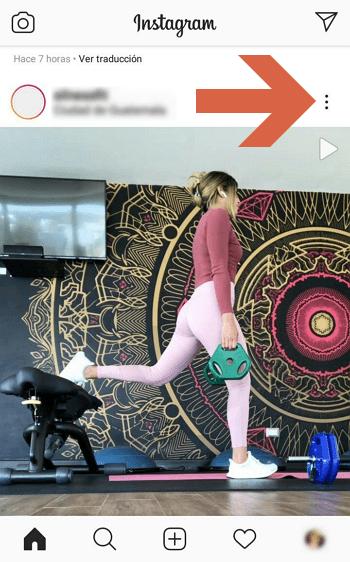 Como descargar fotos y videos desde Instagram con App Descargar fotos y videos paso 2