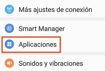 Como mover aplicaciones desde dispositivos Samsung paso 2