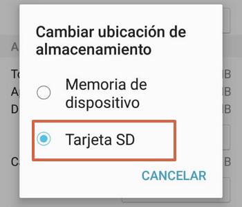Como mover aplicaciones desde dispositivos Samsung paso 6