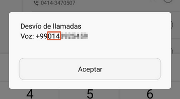 Como saber que compañia es un celular con código MMI paso 3