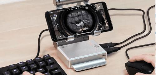 Conexión con un teclado o mouse