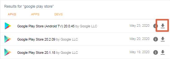 Descargar Google Play Store paso 2