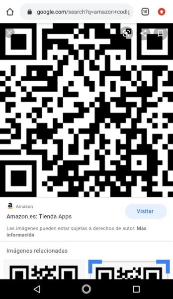 Escanear código QR con Google Lens paso 4