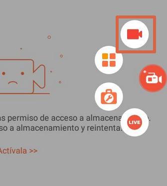 Grabar pantalla con AZ Screen Recorder paso 4
