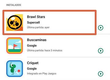 Grabar pantalla con Google Play Juegos paso 1