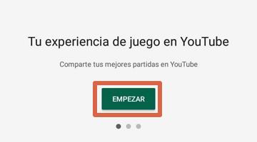 Grabar pantalla con Google Play Juegos paso 3