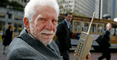 Martin Cooper inventor del celular