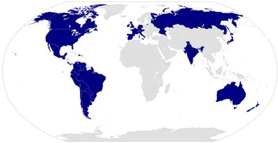 Países en los que se encuentra disponible Android Auto