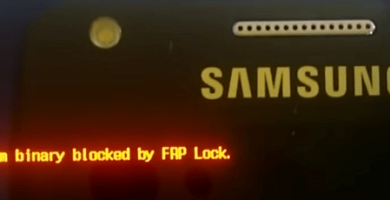 Qué es Custom binary blocked by FAP o FRP lock soluciones