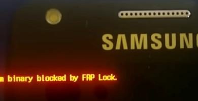 Qué es Custom binary blocked by FAP o FRP lock soluciones