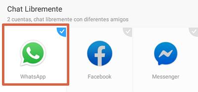 Tener dos WhatsApp con Parallel Space paso 2