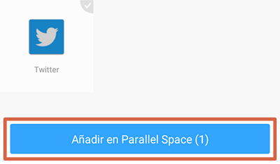 Tener dos WhatsApp con Parallel Space paso 3