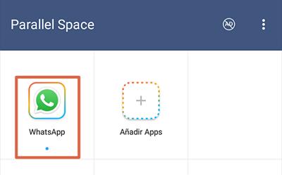 Tener dos WhatsApp con Parallel Space paso 5