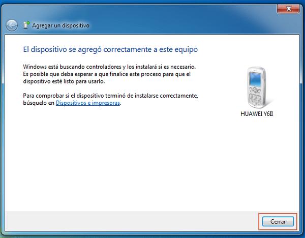 Transferir archivos desde Android al ordenador con Bluetooth paso 6