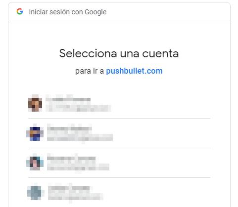 Transferir archivos desde Android al ordenador con PushBullet paso 2