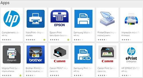 aplicaciones para imprimir desde el celular