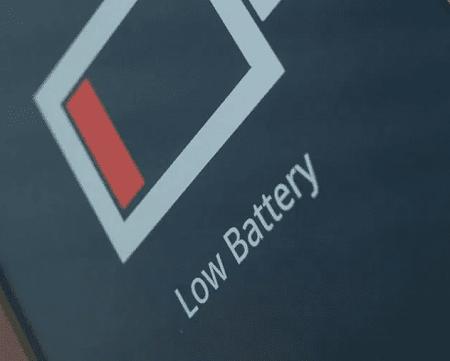 batería baja en Android