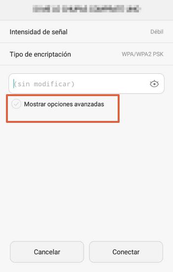 cambiar configuracion IP en el movil paso 3