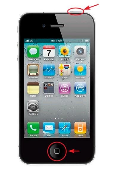 formatear iphone 4 botones