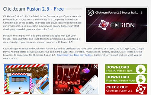 crear juego para Android con Clickteam Fusion