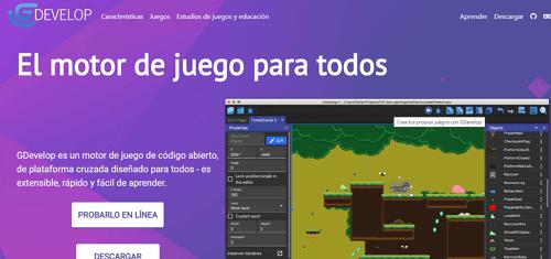 crear juego para Android con GDevelop