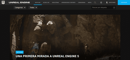 crear juego para Android con Unreal Engine