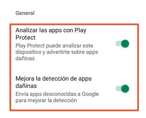 proteger tu dispositivo contra adware paso 5