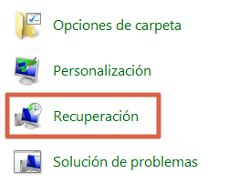 restaurar windows paso 1