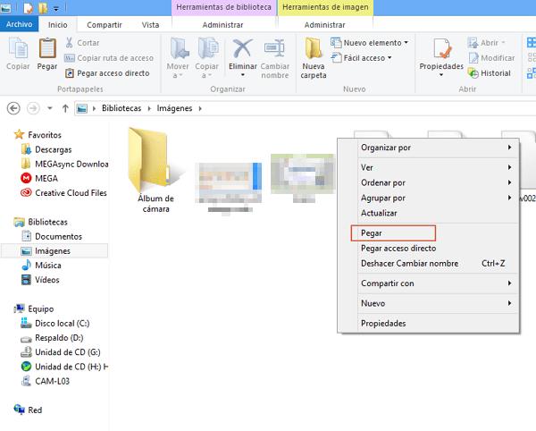 transferir archivos desde Android al ordenador con cable USB paso 6