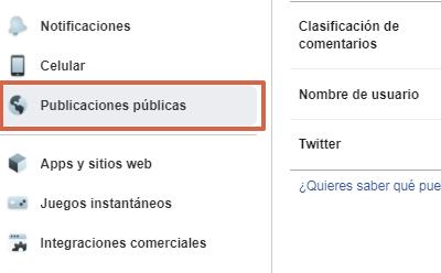 Activar seguidores en la nueva versión de Facebook paso 4