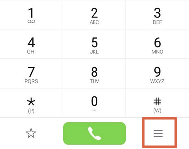 Bloquear 912041600 desde los ajustes del teléfono paso 2