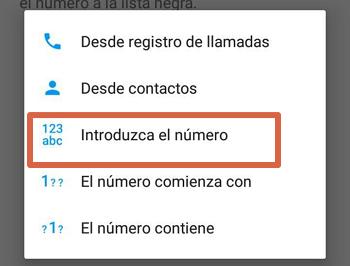 Bloquear el número 912016240 con app externa paso 4