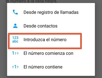 Bloquear el número 912135900 con app externa paso 4