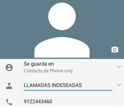 Bloquear llamadas indeseadas con el Smartphone paso 3