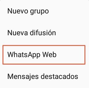 Cómo cerrar sesión en todos los dispositivos de WhatsApp web paso 2