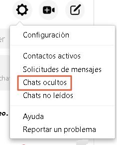 Cómo desarchivar conversaciones de Facebook Messenger desde el navegador paso 4