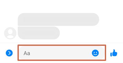 Cómo desarchivar conversaciones de Facebook desde Messenger Lite paso 4