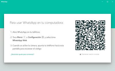 Cómo descargar WhatsApp web para el escritorio paso 4