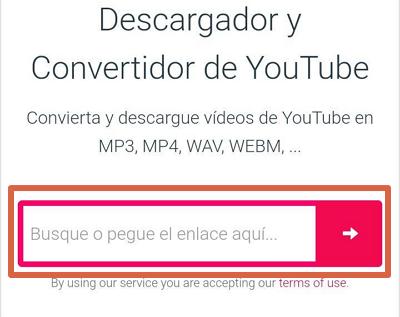 Cómo descargar música gratis desde Android con Y2mate paso 6