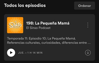 Cómo descargar podcasts en Spotify desde el teléfono paso 4